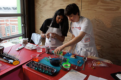 Kitchen Chemistry at Tech Taste of Chemistry event, 2011