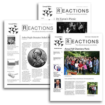 image of Reactions newsletters
